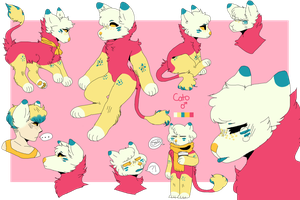Cato Doodle Ref by skeIly