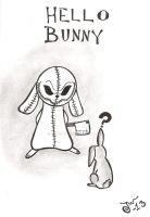 Hello bunny by MissPoe