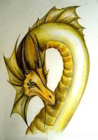 Yellow Dragon by MartyDeath