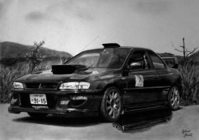 Subaru Impreza WRX STI [Graphite][A3][commission] by TarcDnB