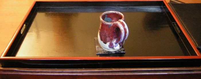 coffee cup on tray by k0scist