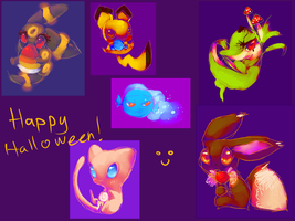 Happy Halloween by pink-winter