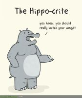 The Condescending Hippo-crite by MattMelvin