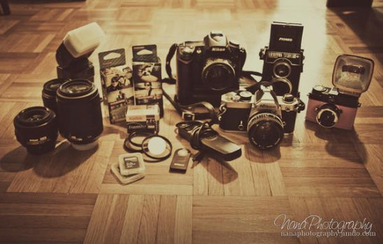 What's In Your Kit? Part II by NanaPHOTOGRAPHY