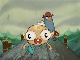 The Misadventures of flapjack by Makinita