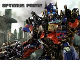 optimus prime by aerlixir