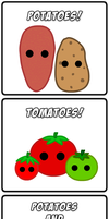Potatoes and Tomatoes by ZeekNyne