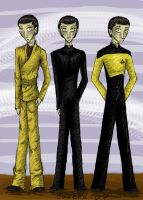 Brothers Androids by corre