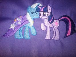 Twixie Embroidery by EthePony