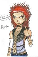 Axel-Colored by Unichi