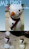 Mr. Frost the Snowman by ElectricDinoSaur