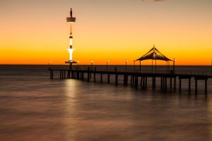 Sunset Long Exposure - Brighton Jetty by DylserX