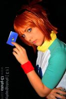 The Blue Card by natsuocosplay
