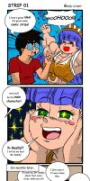 Strip 01 - Good start in colors by MISTERBIGT