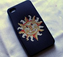 Celestial Theme iPhone 4 Case by agorby00