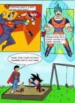 Superman Vs Goku My Way by ckdck
