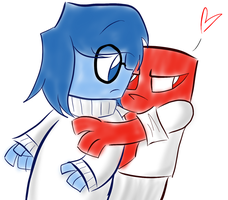 .:Anger x Sadness:. - Inside Out by Mishti14