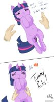 Tummy Rubs - Twilight Sparkle by RuttoSSJ