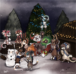 The Bean who stole Christmas (Gift Event) by Snorechu