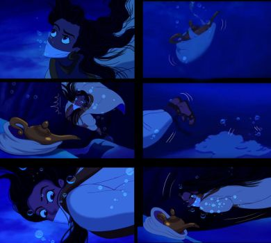 Aladdin genderbend - Drowning scene - Page 5 by Miranh