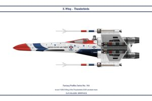 Fantasy 763 X-Wing Thunderbirds by WS-Clave