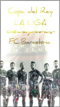 COPA DEL REY - Champions - Barca - 2015/16 by Leo10thebest