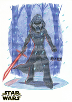 Kylo Ren - Star Wars: The Force Awakens by FelixToonimeFanX360