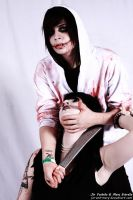 Jeff the Killer and Jane the Killer cosplay by jin-and-mary