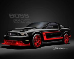 Black Red Boss 302 - Danny Whitfield by lovelife81