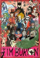 Tribute to Tim Burton by Falang
