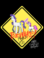 BEWARE: Foals at Play by TheMarkofMark