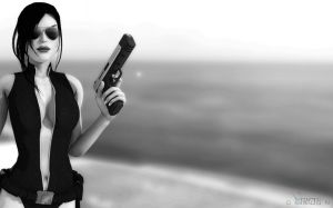 - Hottest Adventure Day (Black n' White) by Rockeeterl