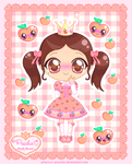 Princess-Peachie Chibi Re-Do by Princess-Peachie