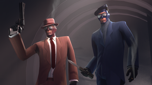 SFM Poster : Spies with Style by Olderika