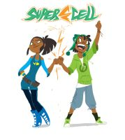 SuperCell: The Heroic Duet by Dream-Piper