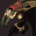 Batgirl and Robin by ex-m