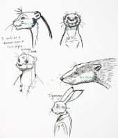 Redwall Project Sketches-1 by Sharsarannon