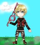 Chibi Shulk by Nefery-san