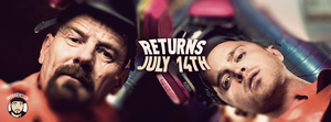Return of Breaking Bad - July 14th -Facebook Cover by enveedesigns