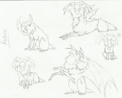 .:Species Concept Sketches:. by LeeOko