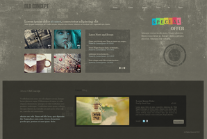 Old Concept - Web Layout by DeemahDesign