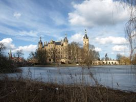 STOCK Castle Schwerin by Inilein