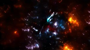 Abstract Space .:BG Practice:. by FreakyEd