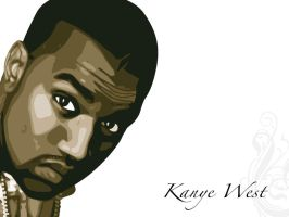 kanye west by vecta-art