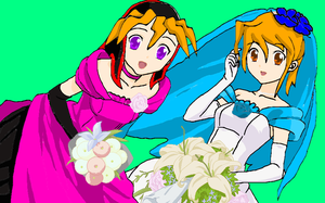 Double Wedding! Yugioh Style by Devi-no-e