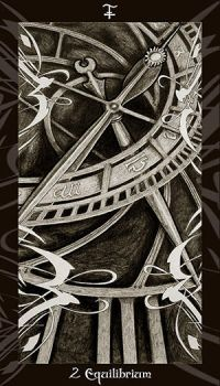 HP Tarot - 2 S Equilibrium by Ellygator