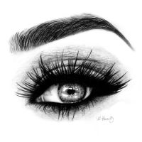 Eye drawing by EquineRibbon