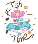 sticker with bubblegum #3 by ladypumpkinseed