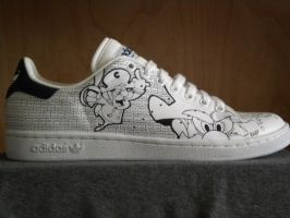 Cereal Shoes CAP N CRUNCH by sshhr1274
