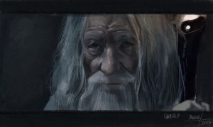 Gandalf by mousez